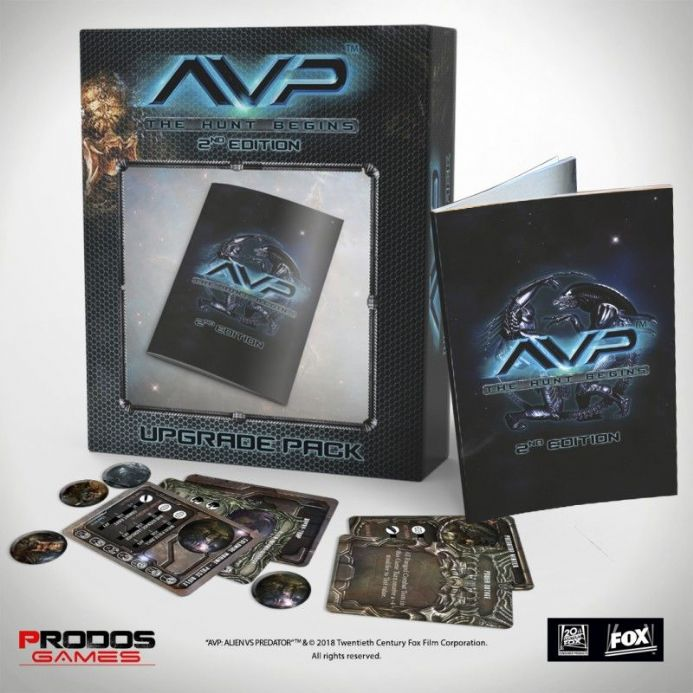AvP: The Hunt Begins – Second Edition Upgrade Kit | Buy now at The G33Kery - UK Stock - Fast Delivery